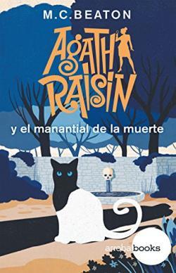 Portada del libro Agatha Raisin y el manantial letal