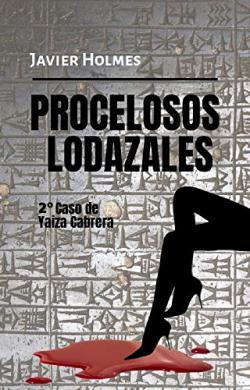Portada del libro Procelosos Lodazales. Yaiza Cabrera 2