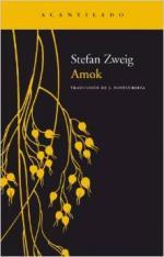 Portada del libro Amok