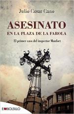 Portada del libro Asesinato en la plaza de la farola: El primer caso del inspector Monfort