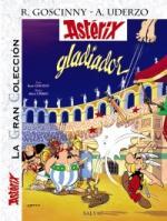 Portada del libro Asterix gladiador