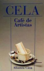 Portada del libro Café de artistas