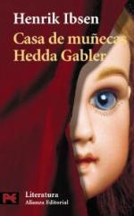Portada del libro Casa de muñecas. Hedda Gabler