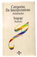 Portada del libro Categorías de interpretaciones