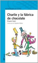Portada del libro Charlie y la fábrica de chocolate