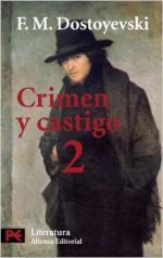 Portada del libro Crimen y castigo, 2