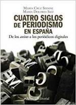 Portada del libro Cuatro siglos del periodismo en España