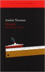 Portada del libro Década: Poesía 1997-2007