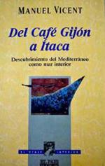 Portada del libro Del café Gijón a Itaca