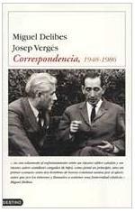 Portada del libro Delibes-Vergés. Correspondencia, 1948-1986