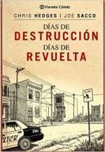 Portada del libro Días de destrucción, días de revuelta