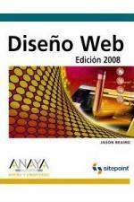 Portada del libro Diseño Web. Edicion 2008