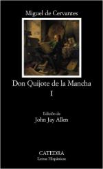 Portada del libro Don Quijote de la Mancha, I