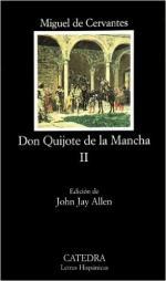 Portada del libro Don Quijote de la Mancha, II