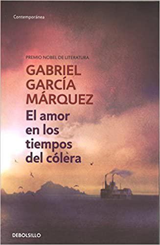 Portada del libro El amor en los tiempos del cólera