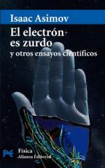 Portada del libro El electrón es zurdo y otros ensayos científicos