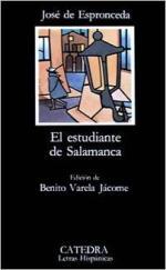 Portada del libro El estudiante de Salamanca