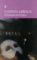 Portada del libro El fantasma de la ópera