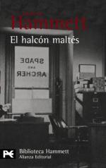 Portada del libro El halcón maltés
