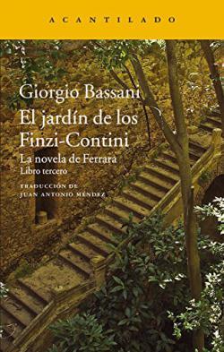 Portada del libro El jardín de los Finzi-Contini