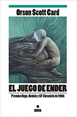 Portada del libro El juego de Ender. Ender 1