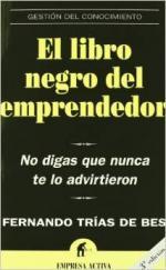 Portada del libro El libro negro del emprendedor