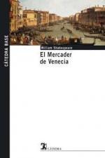 Portada del libro El Mercader de Venecia