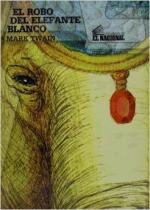 Portada del libro El robo del elefante blanco