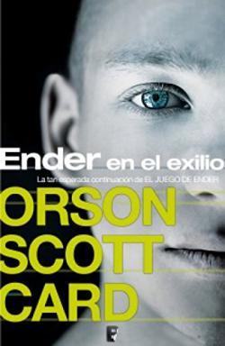 Portada del libro Ender en el exilio. Ender 5