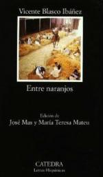 Portada del libro Entre naranjos