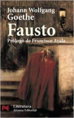 Portada del libro Fausto