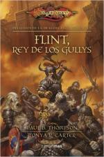 Portada del libro Flint, rey de los Gullys (Preludios de la Dragonlance II)