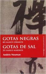 Portada del libro Gotas negras, gotas de sal
