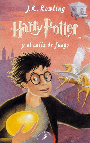 Portada del libro Harry Potter y el cáliz de fuego (Libro 4)