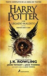 Portada del libro Harry Potter y el legado maldito