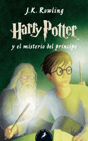 Portada del libro Harry Potter y el misterio del príncipe (Libro 6)
