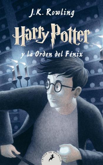 Portada del libro Harry Potter y la Orden del Fénix (Libro 5)