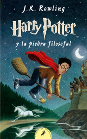 Portada del libro Harry Potter y la piedra filosofal (Libro 1)