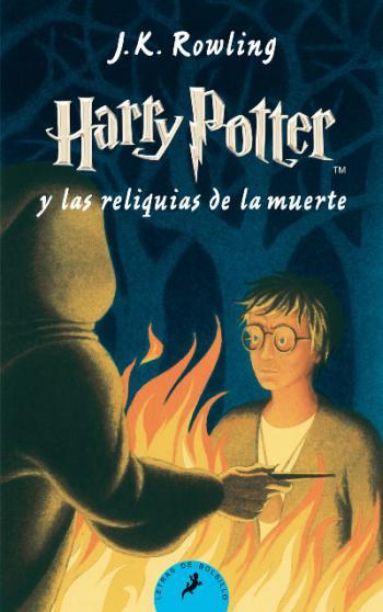 Portada del libro Harry Potter y las relíquias de la muerte (Libro 7)