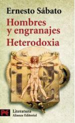 Portada del libro Hombres y engranajes. Heterodoxia