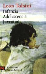Portada del libro Infancia. Adolescencia. Juventud