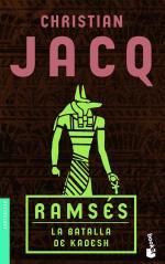 Portada del libro La batalla de Kadesh. Ramsés III