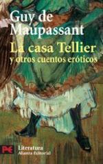 Portada del libro La casa Tellier y otros cuentos eróticos