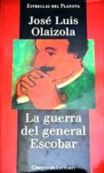 Portada del libro La guerra del general Escobar