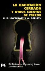 Portada del libro La habitación cerrada y otros cuentos de terror