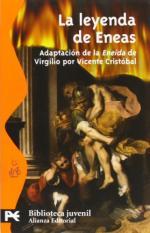 Portada del libro La leyenda de Eneas. Adaptación de la Eneida de Virgilio