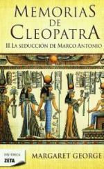 Portada del libro La seducción de Marco Antonio. Memorias de Cleopatra 2