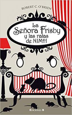Portada del libro La señora Frisby y las ratas de NIMH