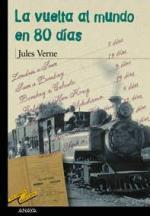 Portada del libro La vuelta al mundo en 80 días