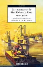 Portada del libro Las aventuras de Huckleberry Finn